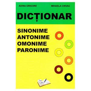 Dicționar sinonime, antonime, omonime, paronime