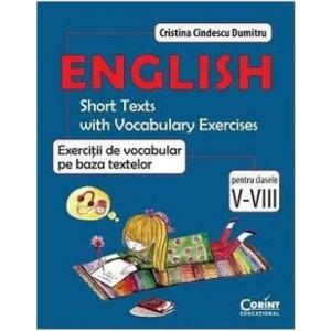 English - Exerciții de vocabular pe baza textelor