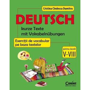 Limba germană - Exerciții de vocabular pe baza textelor