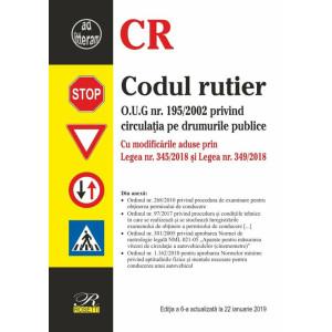 Codul rutier. Ediția a 6-a actualizată la 22 ianuarie 2019
