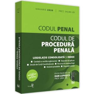 Codul penal și Codul de procedură penală: Ianuarie 2020
