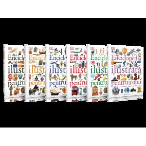 Set Enciclopedia ilustrată pentru copii (6 volume)