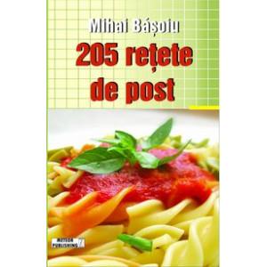 205 rețete de post