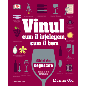 Vinul. Cum îl înțelegem, cum îl bem. Ghid de degustare