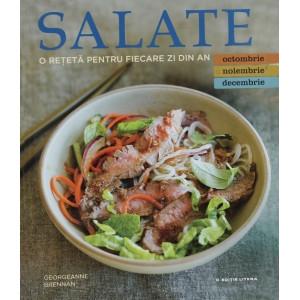 Salate. O rețetă pentru fiecare zi din an. Vol. 4: Octombrie, Noiembrie, Decembrie