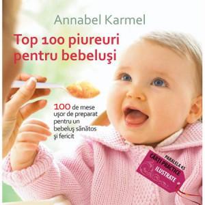Top 100 piureuri pentru bebeluși