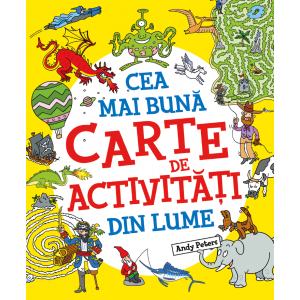 Cea mai bună carte de activități din lume
