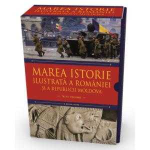 Pachet. Marea istorie ilustrată a României și a Republicii Moldova (10 volume)