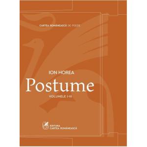 Ion Horea - Set 3 volume - Postume