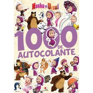 1000 de autocolante. Masha și ursul