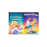 2 Povești: Peter Pan și Frumoasa adormită