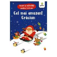 Cel mai amuzant Crăciun. Jocuri și activități pentru 5-6 ani