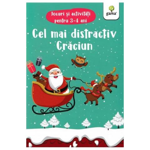 Cel mai distractiv Crăciun. Jocuri și activități pentru 3-4 ani