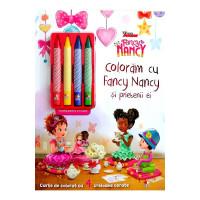 Disney. Fancy Nancy. Colorăm cu Fancy Nancy și prietenii ei
