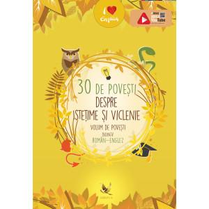 30 de povești istețime și viclenie. Volum de povești bilingv român-englez