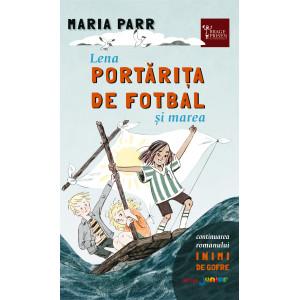 Lena portărița de fotbal și marea