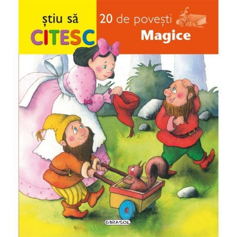Știu să citesc - 20 de povești magice