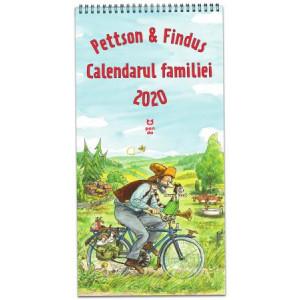 Pettson și Findus. Calendarul Familiei 2020
