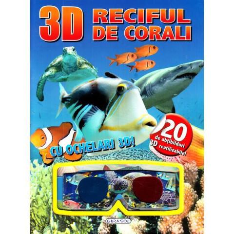 Carte 3D cu Abțibilduri Reciful de Corali