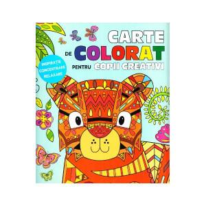 Carte de colorat pentru copii creativi
