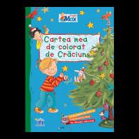 Cartea mea de colorat de Crăciun - Învăț cu Max