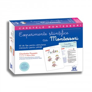 Experimente științifice cu Montessori