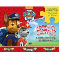 Paw Patrol - Operațiunea ham-tastică! - Carte Puzzle