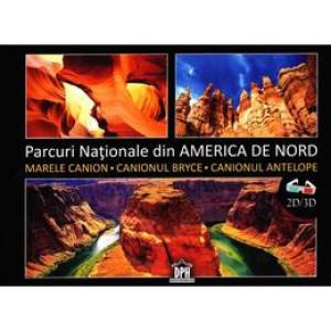 Parcuri naționale din America de Nord 2D+3D + ochelari