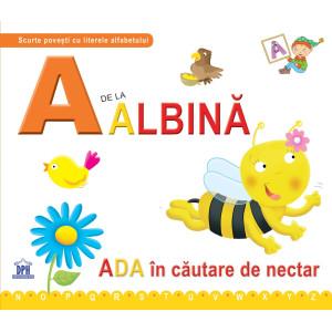 A de la Albină - Ada în căutare de nectar -ed cartonată