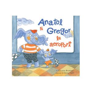Anatol și Gregor la aeroport
