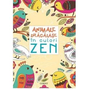 Animale drăgălașe în culori ZEN