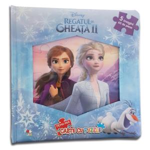 Disney. Regatul de gheață II. Prima mea carte cu puzzle