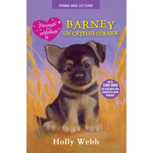 Barney, un cățeluș curajos