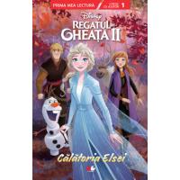 Disney. Regatul de gheață II. Călătoria Elsei - Citesc cu ajutor (nivelul 1)