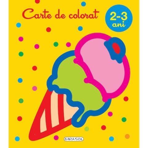 Carte de colorat 2-3 ani
