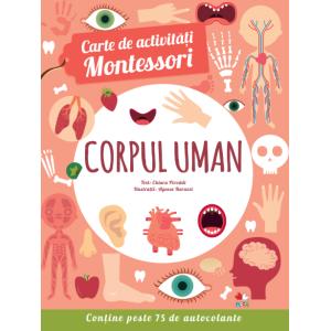 Carte de activități Montessori. Corpul uman