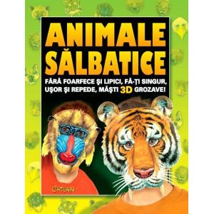 Animale salbatice (Cartea cu măști)