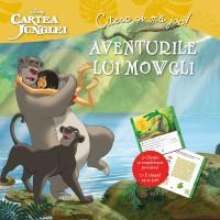 Cartea junglei. Aventurile lui Mowgli. Citesc și mă joc