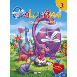 Colorăm 3 - Dinozauri