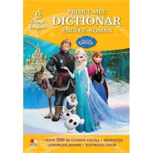 Disney English. Regatul de gheață. Primul meu dicționar englez-român