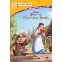 Disney Prințese. Frumoasa și bestia. Îmi place să citesc. Clasa I