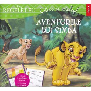 Disney. Regele leu. Aventurile lui Simba. Clasa I. Citesc și înțeleg!