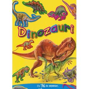 Dinozauri cu 36 de abțibilduri