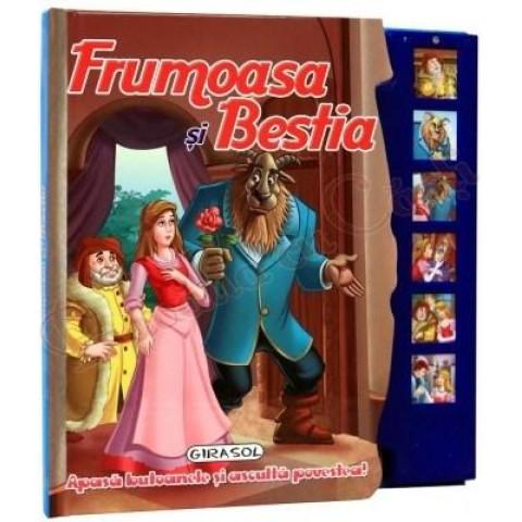 Frumoasa și Bestia - Apasă butoanele și ascultă povestea!