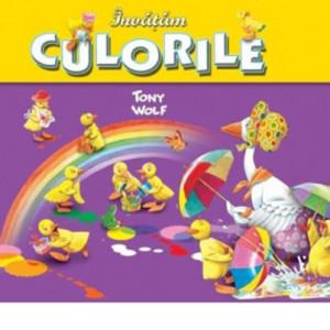 Învățăm culorile - Tony Wolf