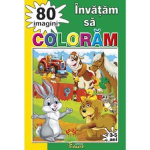 Învățăm să colorăm 80 imagini