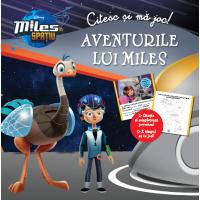 Miles în spațiu. Aventurile lui Miles. Citesc și mă joc