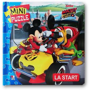 Disney Junior. MINI PUZZLE. Mickey și piloții. La start