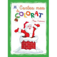 Cartea mea de colorat - Moș Crăciun