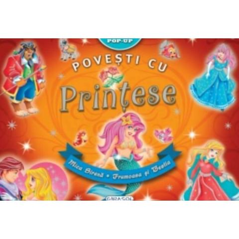 Povești cu Prințese Pop-up: Mică Sirenă. Frumoasă și Bestia